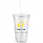 Cochlear 450mL Clear Tumbler