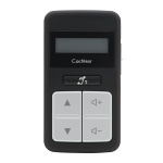 Nucleus 6 Remote Control (CR210, Black)
