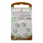 Rayovac Mercury Free Battery - Size 312
