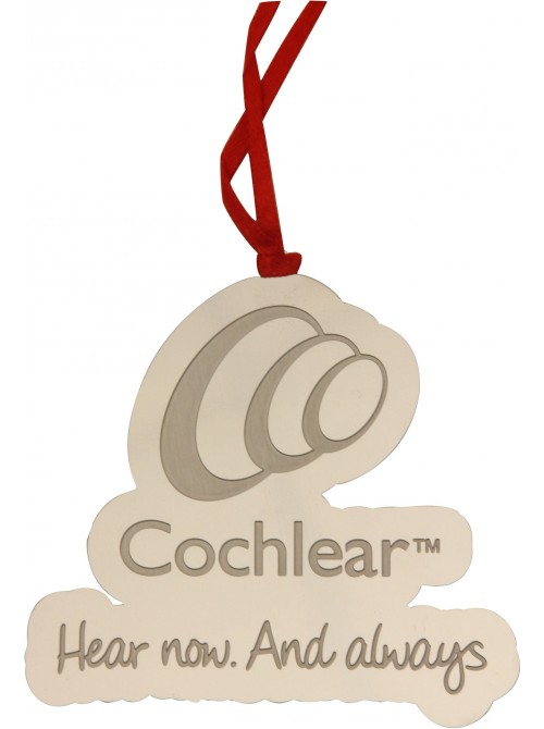 MUF150 Cochlear Bookmark Ornament (Stainless Steel)