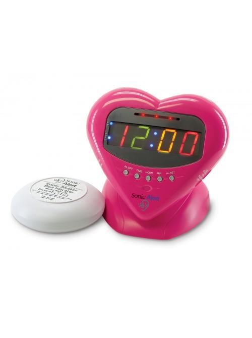 Sonic Boom Sweetheart Alarm Clock (SBH400SS)
