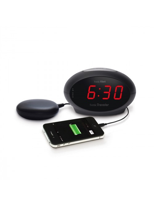 Sonic Alert Travel Alarm Clock